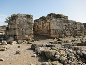 Photo: Ruins at Tel Megiddo (aka Armageddon)