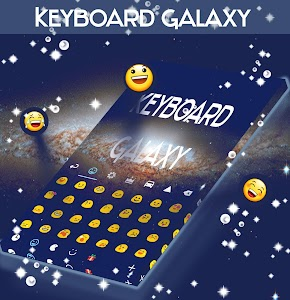 Keyboard Galaxy Theme screenshot 3