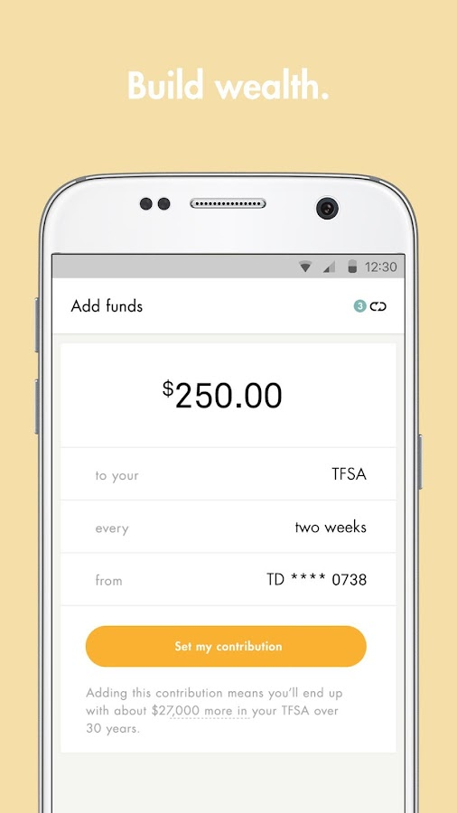 Wealthsimple- screenshot