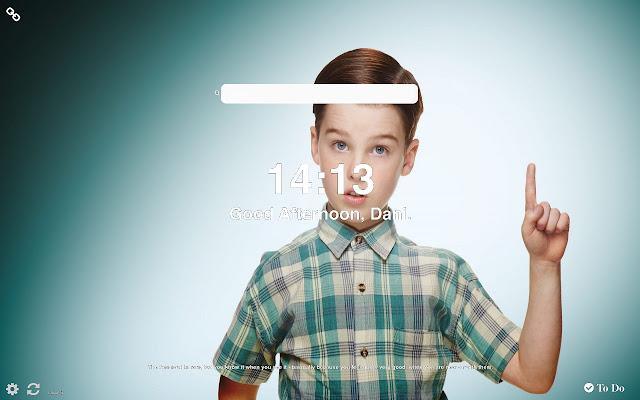 Young Sheldon Wallpapers HD New Tab