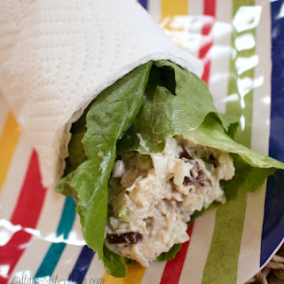 Whole30 Turkey Salad Wrap