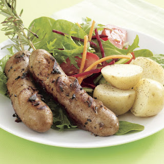 Sausage and Rosemary Skewers