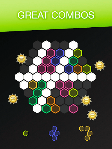 Hex FRVR - Drag the Block in the Hexagonal Puzzle - screenshot
