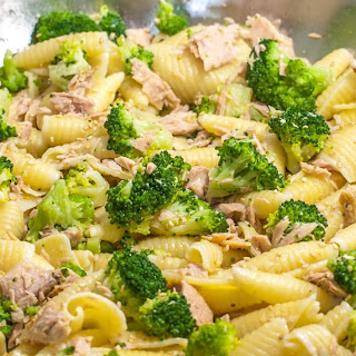 Pasta with Broccoli and Tuna Recipe