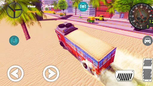 Indian Truck ( Lorry ) Driver 1.0 screenshots 4