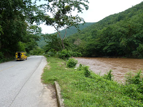 Photo: road Mae Sariang to Chiang Mai - nice road going next to river until Hot/Hod
