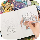 Learn how to draw Pokemons icon