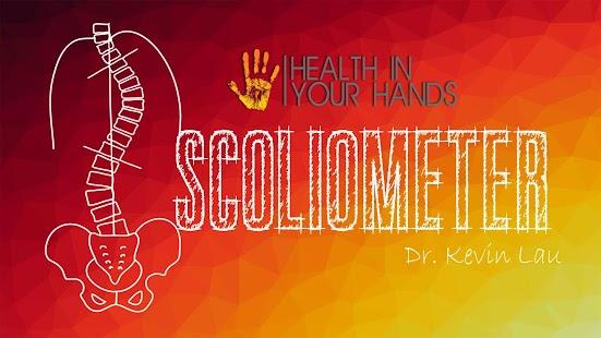 Scoliometer - náhled