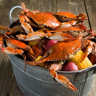 Boiled Crabs.
