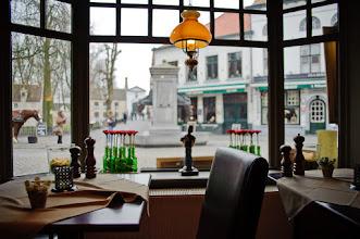 Photo: Coffee house in Brugge Belgium
