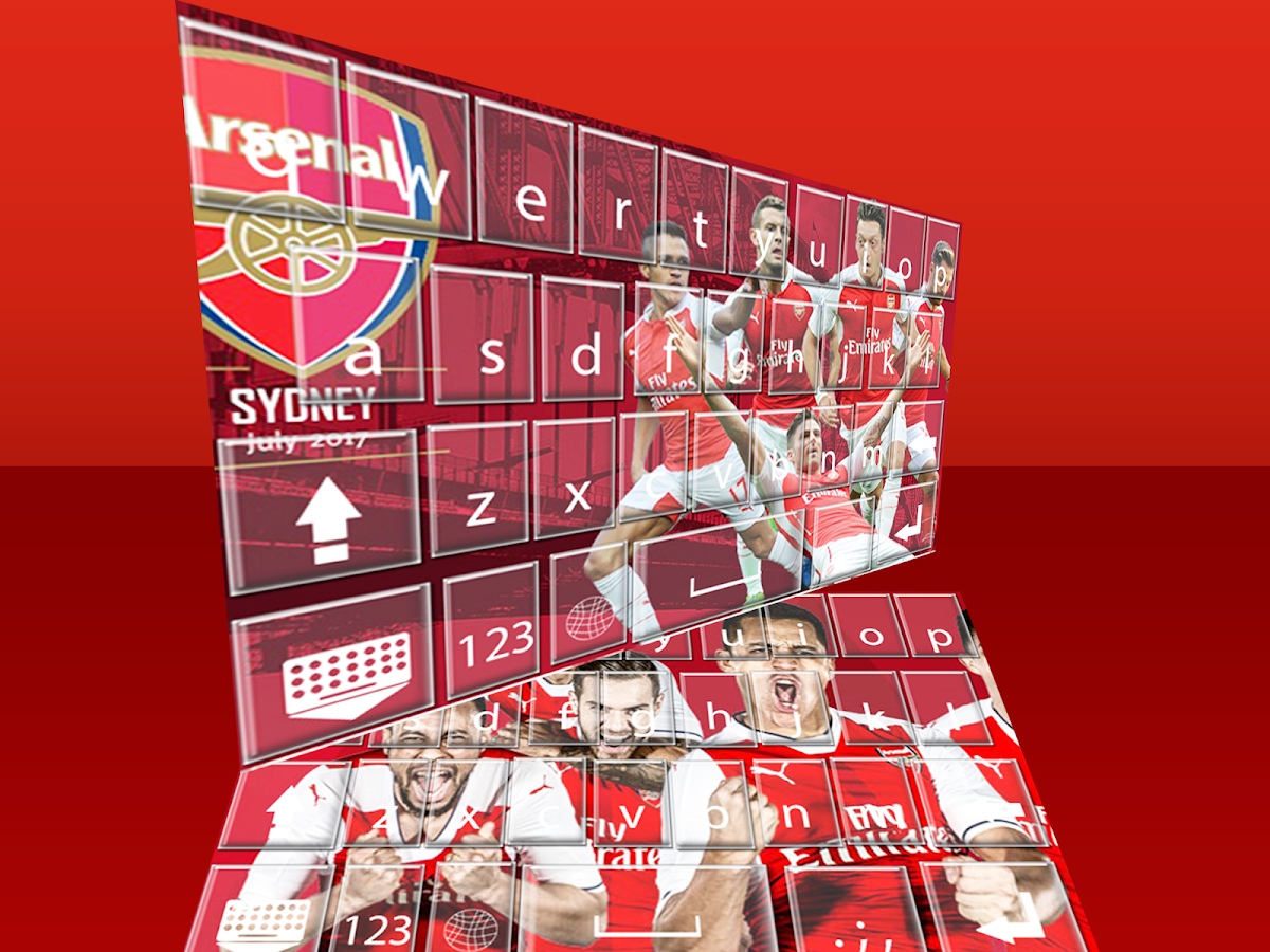 Arsenal Keyboard Themes Android Apps On Google Play
