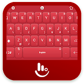 Special Red Valentine Keyboard Theme