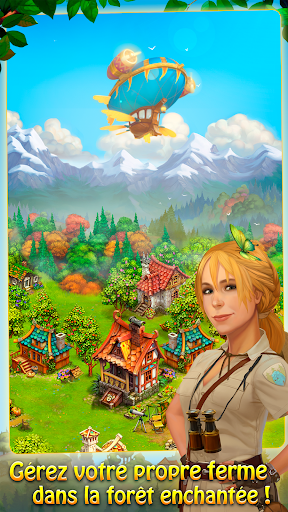 Télécharger Charm Farm - Village forestier APK MOD (Astuce) screenshots 1