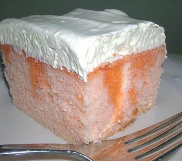 Orange Dreamsickle Cake