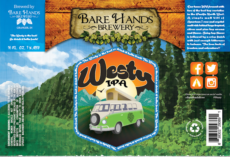 Logo of Bare Hands Westy