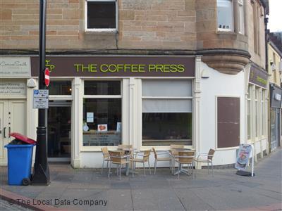 The Coffee Press Cafe Tearoom In Kilmarnock Call Now