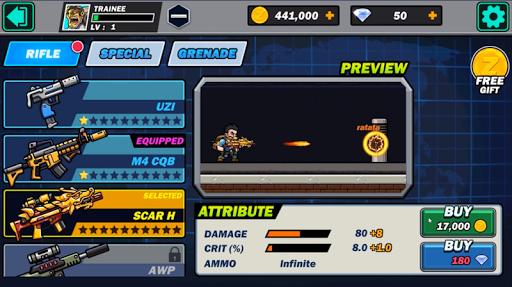 Télécharger Metal Sold : Super Shooter Slug mod apk screenshots 4