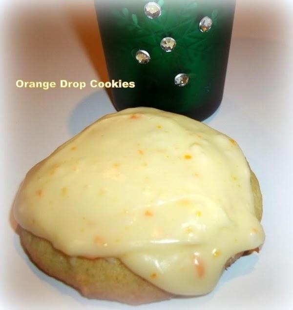 ~ Orange Drop Cookies ~ Recipe