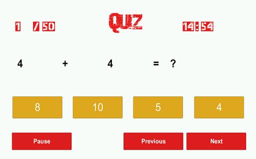 玩免費教育APP|下載数学ハントクイズ app不用錢|硬是要APP