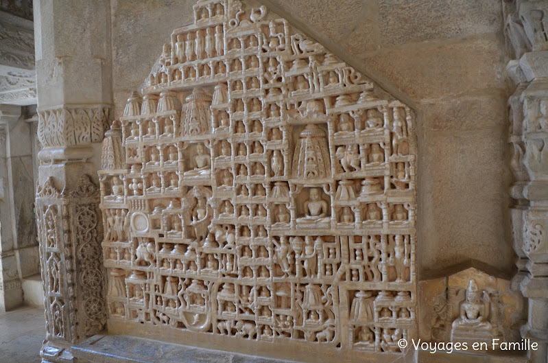 Ranakpur, dieux jains