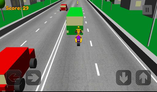 Traffic Racing Dismount