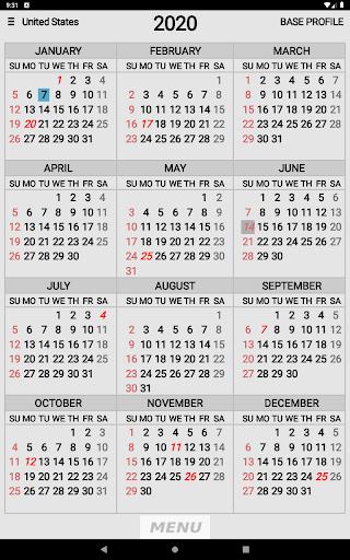 Wallet Calendar screenshots 10