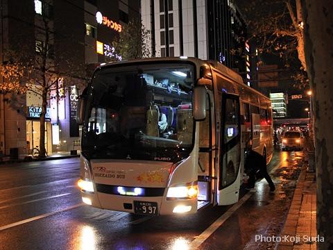 北海道バス「帯広特急ニュースター号」 ・997 札幌駅前到着_01