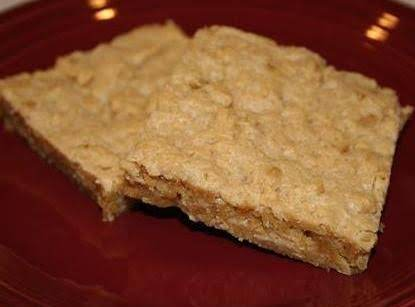 School Lunch Peanut Butter Bars Recipe