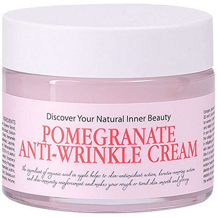 CHAMOS ACACI Pomegranate Anti-Wrinkle Cream From Korea - Concentrate Revitalizing Anti-aging Creme 6 by Supermodels Secrets