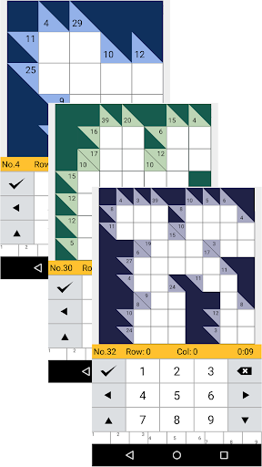 Kakuro Logic Puzzles screenshots 1