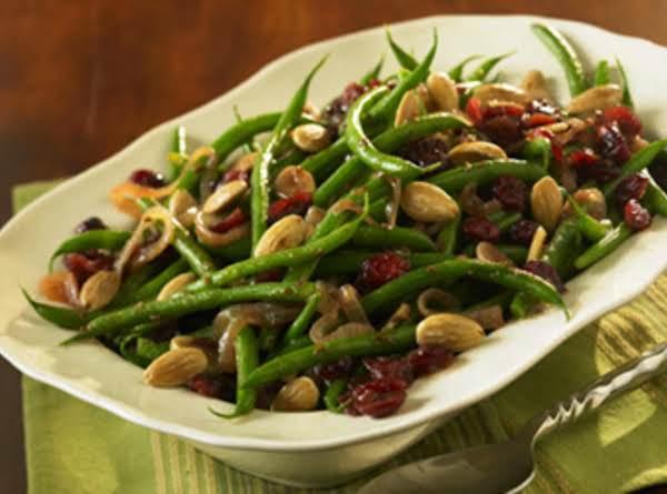 Sweet-n-savory Green Beans Recipe
