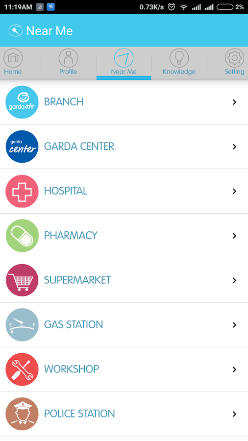 Garda Mobile - Otocare- screenshot
