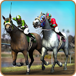 Horse Derby Racing Quest Simulator 3D Game 2017 Icon