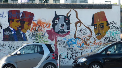 Photo: East Side Gallery; Lutz Pottien-Seiring: Ohne Titel
