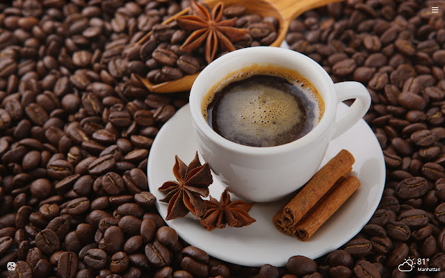 Coffee HD Wallpapers New Tab