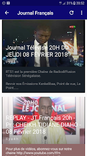Journal Tv Sénégal for PC-Windows 7,8,10 and Mac apk screenshot 3