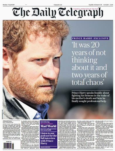 Il Principe Harry Parla Per La Prima Volta Dei Danni Psicologici