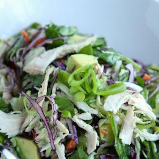 Crunchy Thai Chicken Chop Salad Recipe
