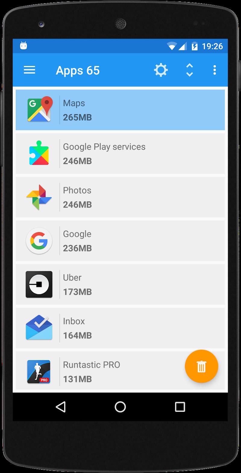 Storage Space Screenshot 1