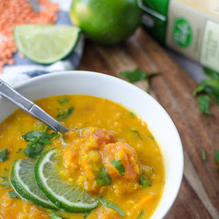 Red Lentil Curry Soup.