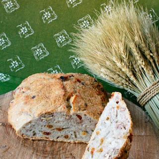Rustic Golden Raisin Pecan Bread