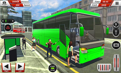 Euro Coach Bus Driving - offroad drive simulator 1.3 screenshots 3