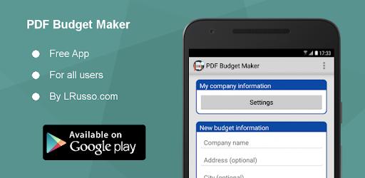 pdf budget maker on windows pc download free 1 5 ar com lrusso