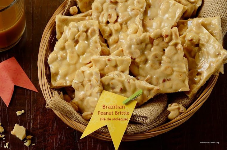 Brazilian Peanut Brittle (Pé De Moleque) Recipe