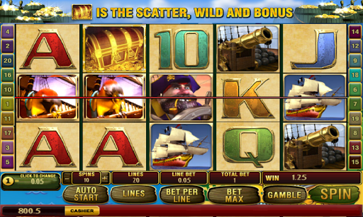 Pirate's Booty Nickel Slots