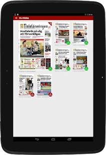 Dalslänningen e-tidning - náhled
