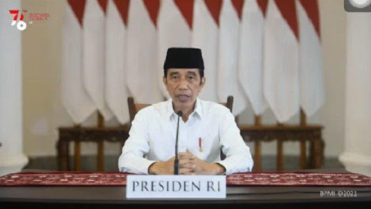 Jokowi: Bayangkan Kalau Pembatasan Dilonggarkan dan Kasus Covid-19 Naik, Faskes Kita Bisa Kolaps - Tribunnews.com