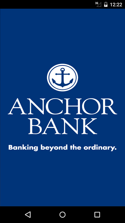 Anchor Bank Mobile Application- screenshot