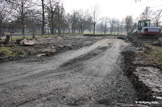 Photo: FFH Rosensteinpark auf Höhe U-Bahn-Station Rosensteinpark und Wilhelma-Gelände (links). Davor wird ein Baubereich für den Rosenstein-Straßen-Tunnel eingerichtet