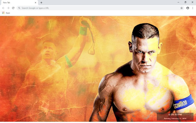John Cena New Tab & Wallpapers Collection